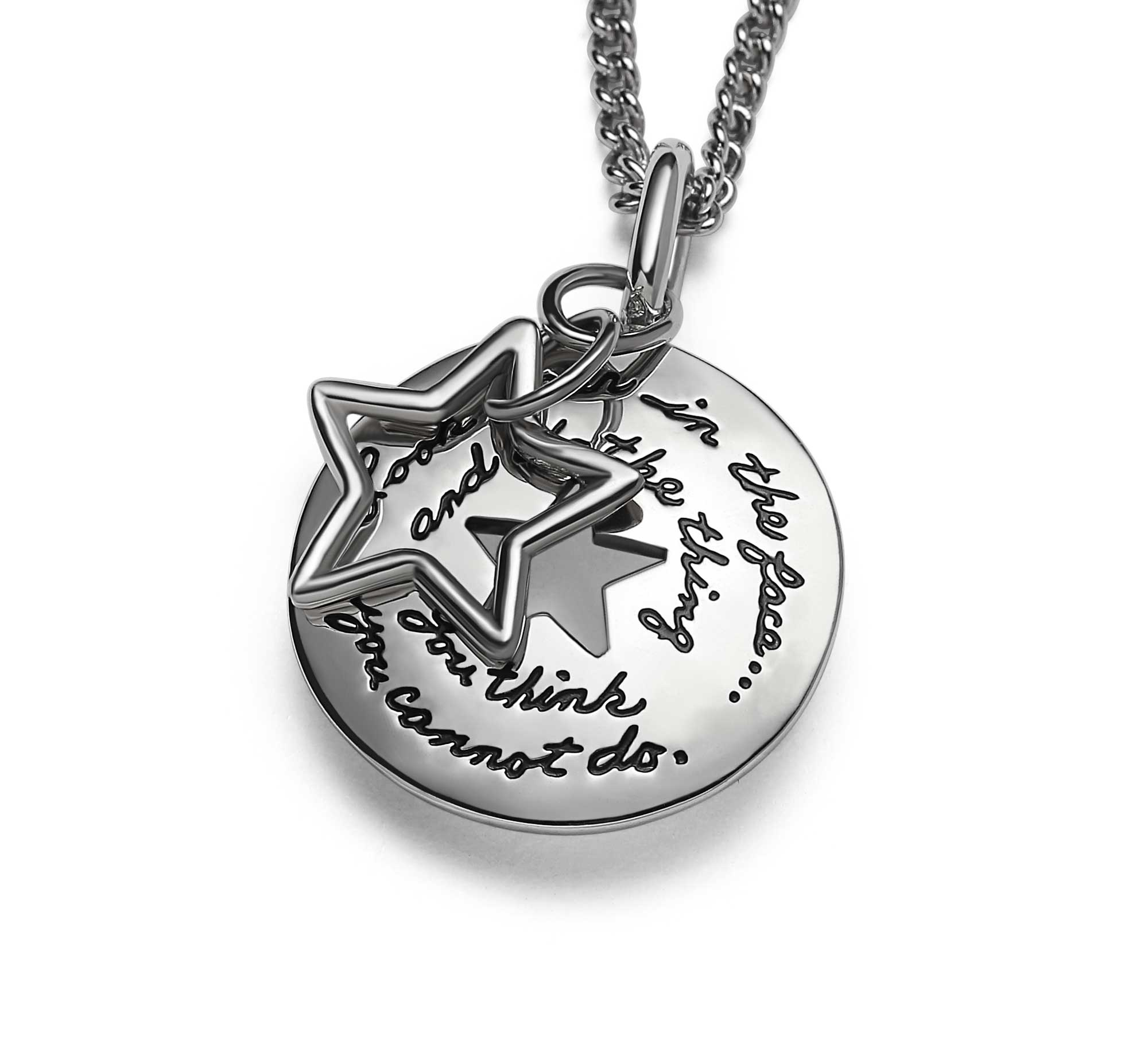 Be A Star Eleanor Roosevelt Quote Star Necklace Bb Becker