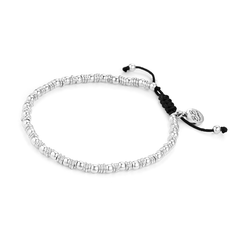 A companion bracelet of sterling silver beads to wear with other BB Becker pieces | BB Becker | Inspirational Jewelry