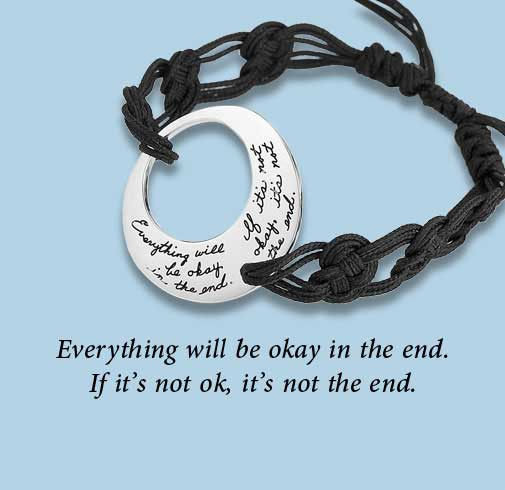 BB Becker - Everything will bу OK bracelet