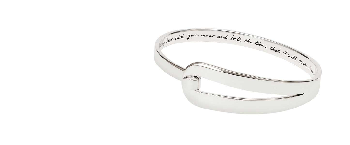 """Dear Daughter"" forever bracelet"